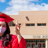 Spring 2021 Grad Fair starts March 29 – April 2 at the UNM Bookstores