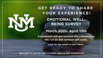 American College Health Foundation selects UNM to participate in emotional well-being survey