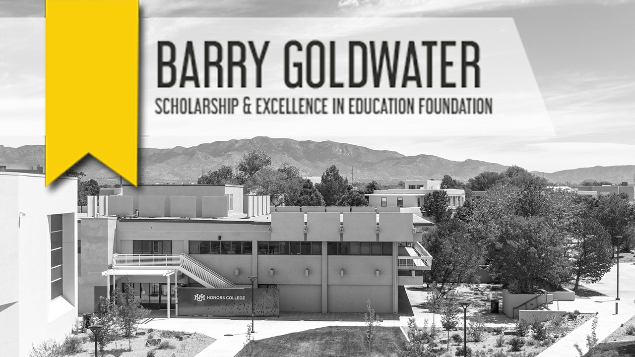 2021 Goldwater Foundation Award announces four UNM winners