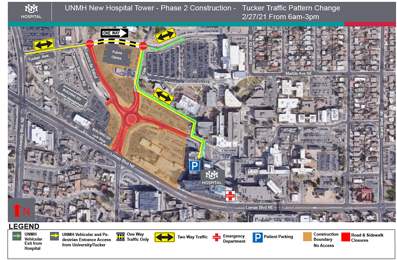 NHT Phase 2 Construction Update_Hospital Access and Lane Closures 2