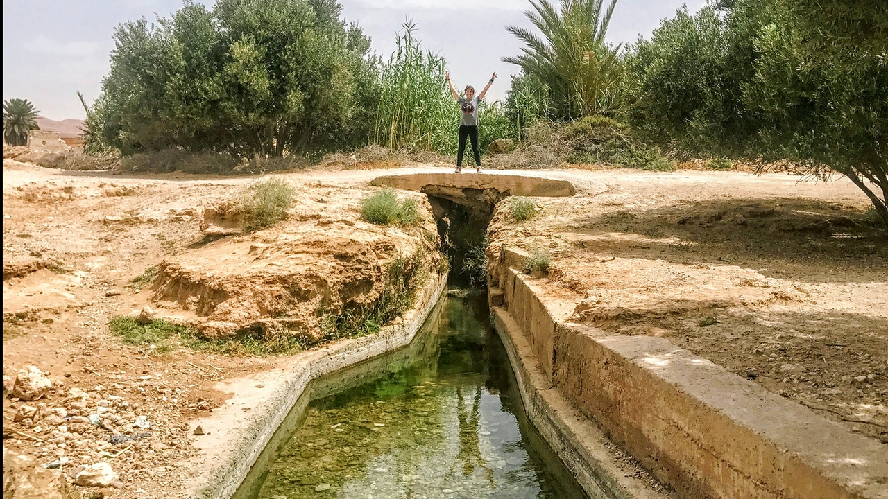 Researcher seeks answers to climate change issues in ancient irrigation system