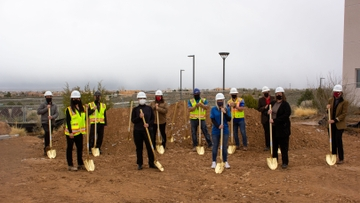 UNM-Taos breaks ground on new College Pathways to Careers Center