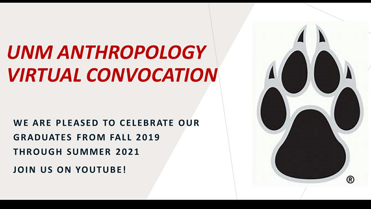 Anthropology convocation
