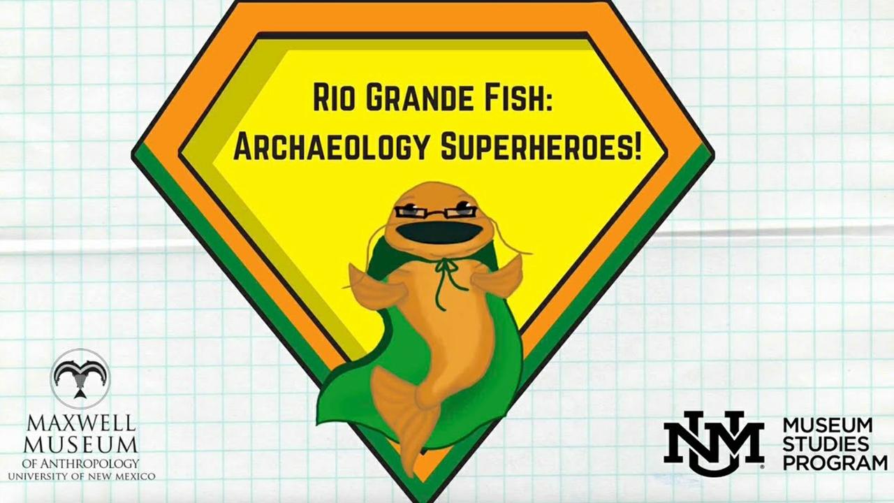 Archaeology superhero