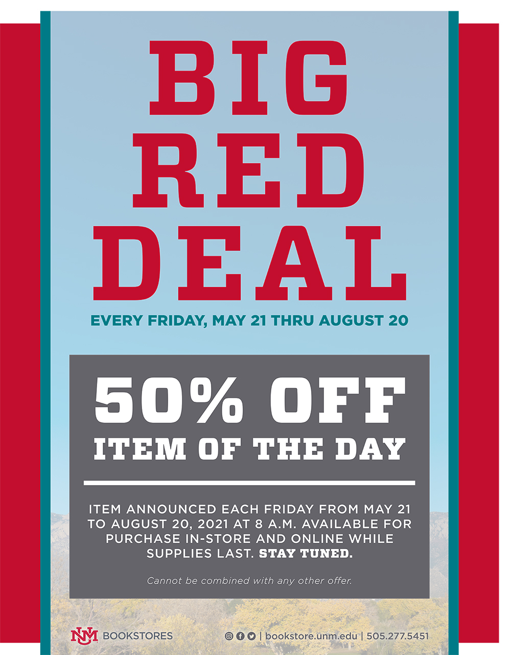 big red deal poster