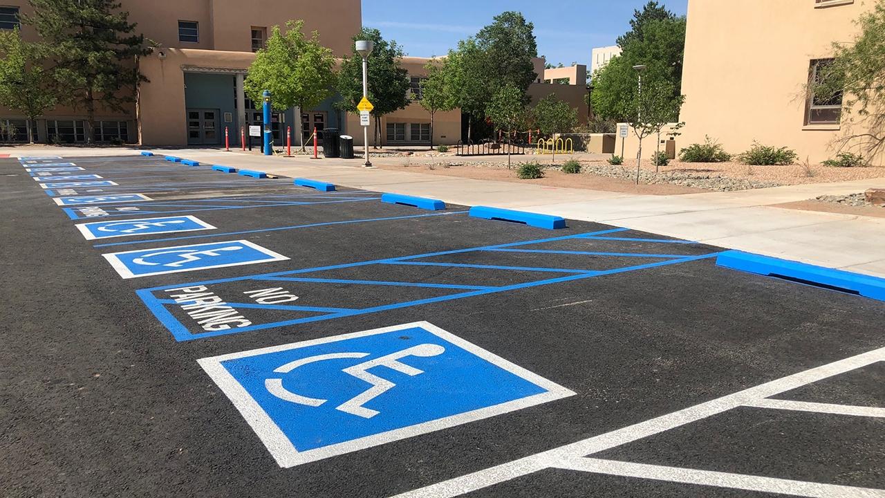 Handicapped parking