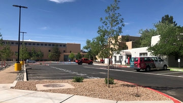 Redondo Court parking lot renovations completed