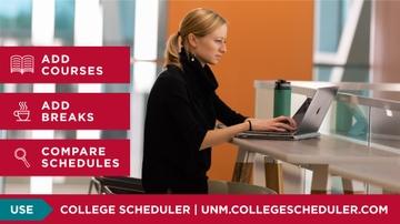 UNM introduces new College Scheduler tool