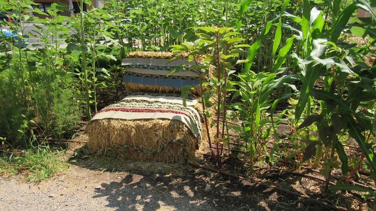 A Garden seating