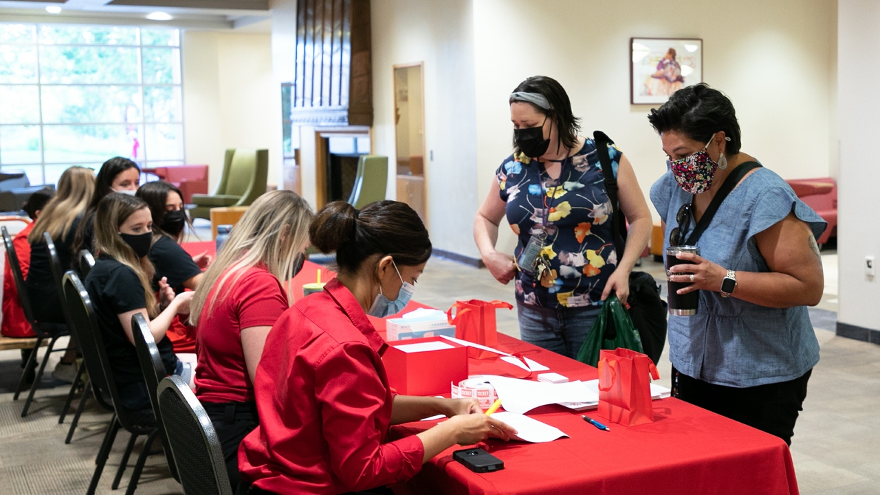 Counselors sign-in