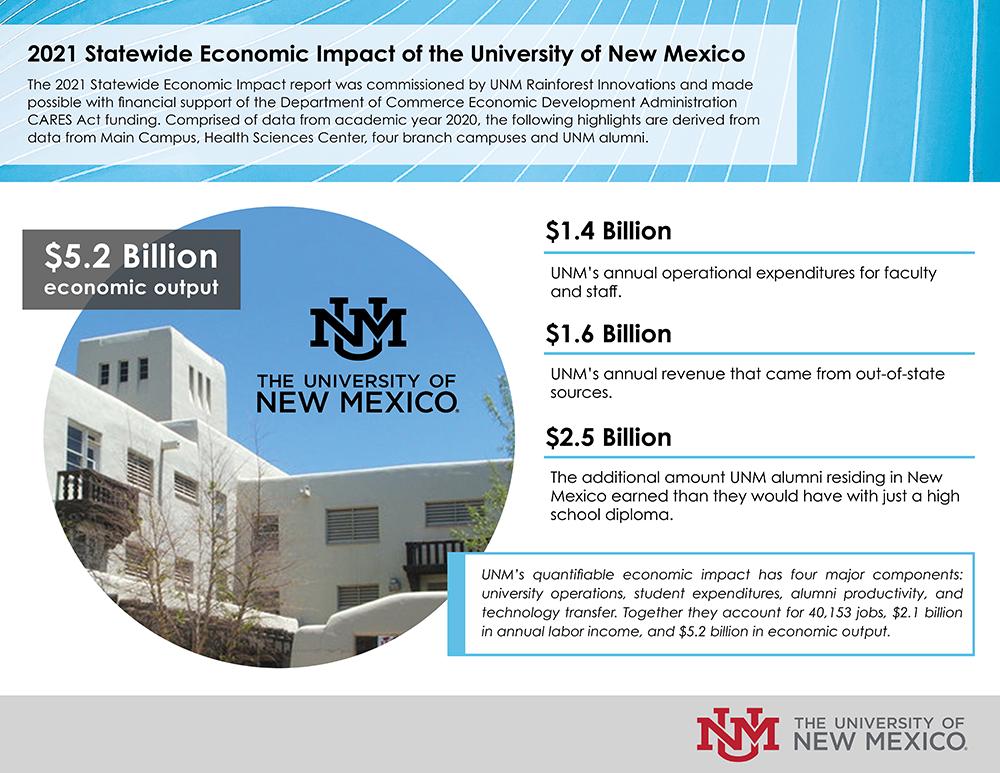 Economic Impact Report Infographic