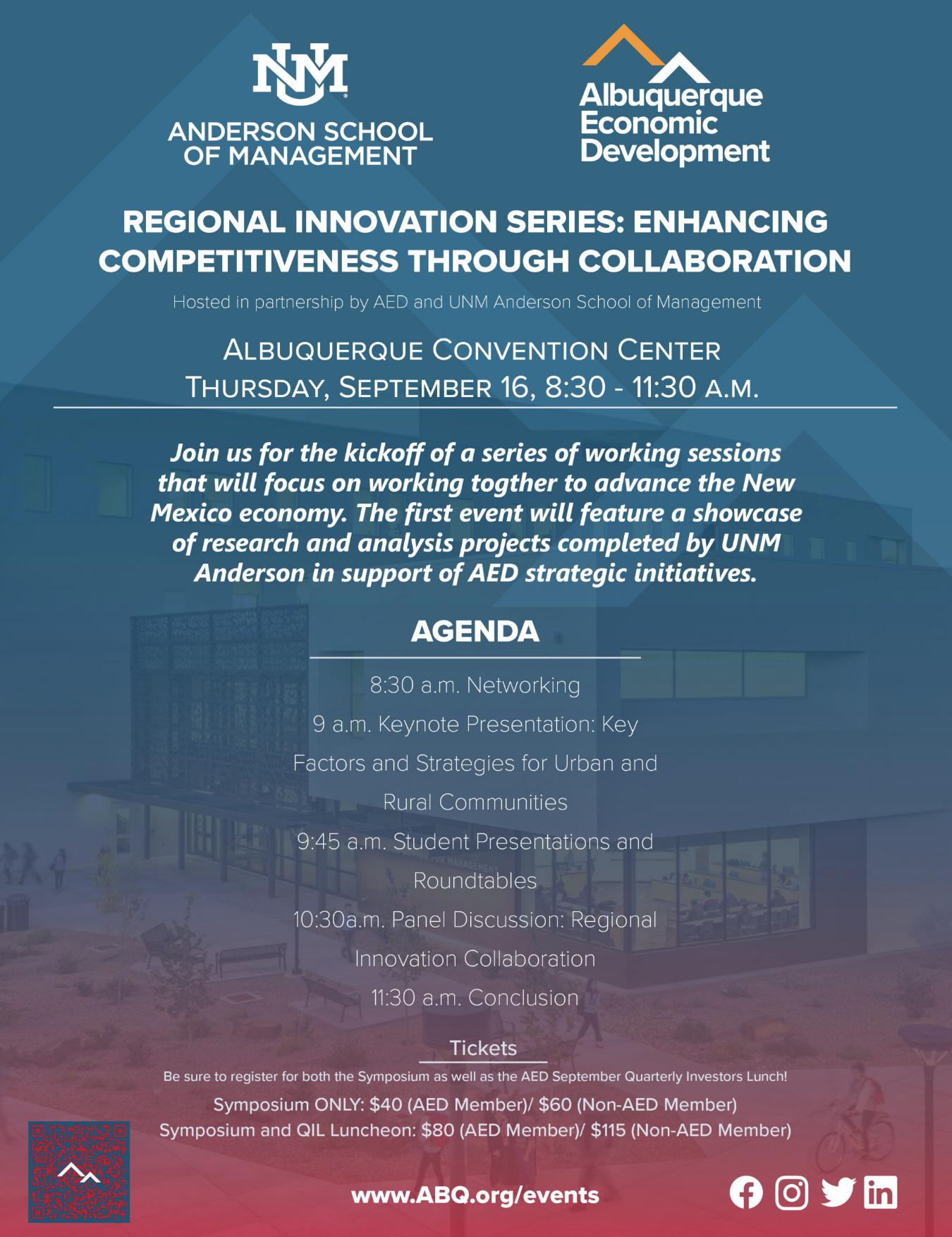 Regional Innovation Series