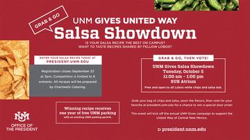 UNM Gives United Way Salsa Showdown registration now underway