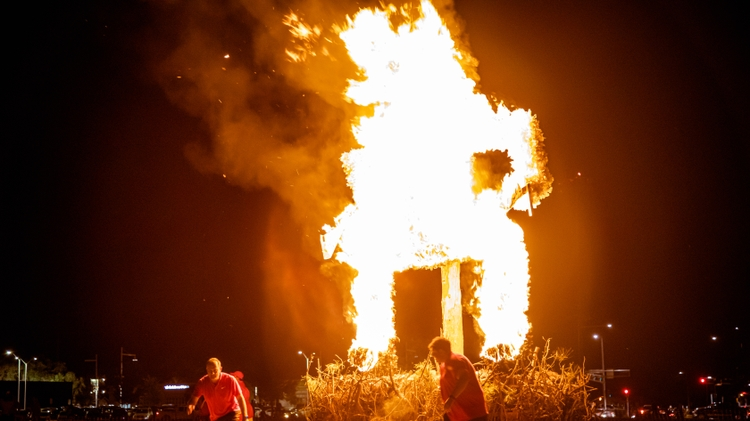 Burning of the Aggie