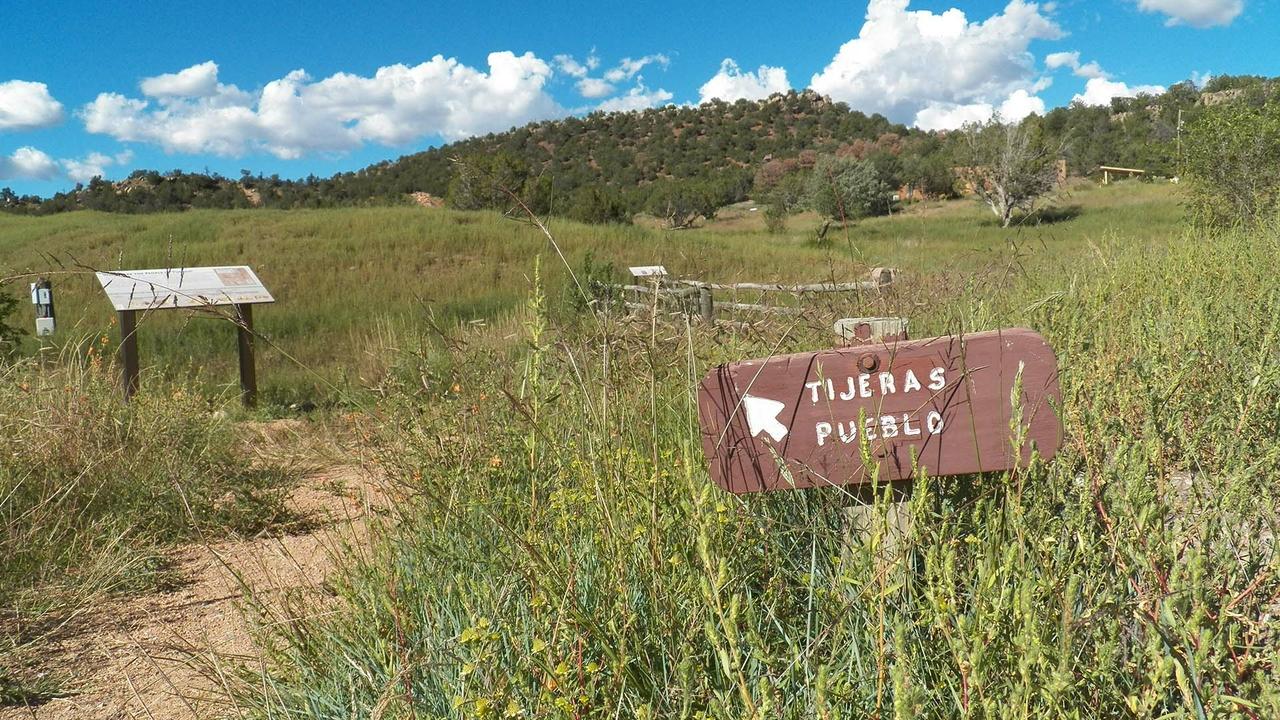 Ancient pueblo site