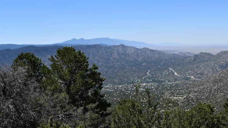 Pueblo at the crossroads