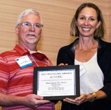 Facilities Management Recycling Services receives Facility of the Year award