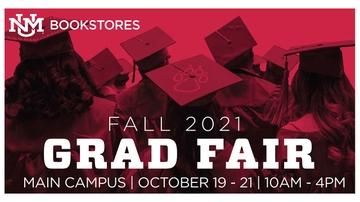 UNM Bookstore Grad Fair set for Oct. 19-21