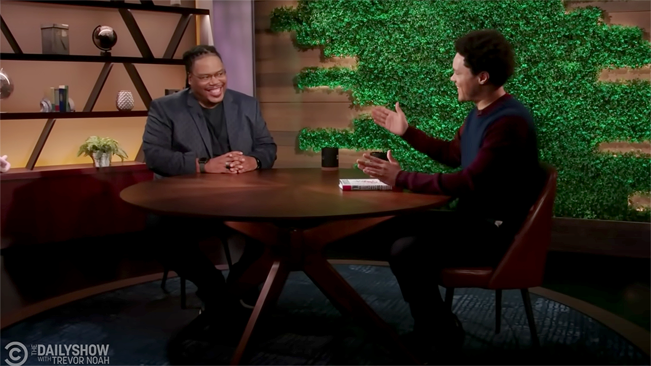 'The Daily Show' with Trevor Noah features UNM Music Professor, Dr. Richard White