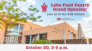Lobo Food Pantry hosts grand opening for new location