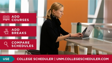 Reminder: new College Scheduler tool available