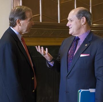 Senator Udall and President Frank