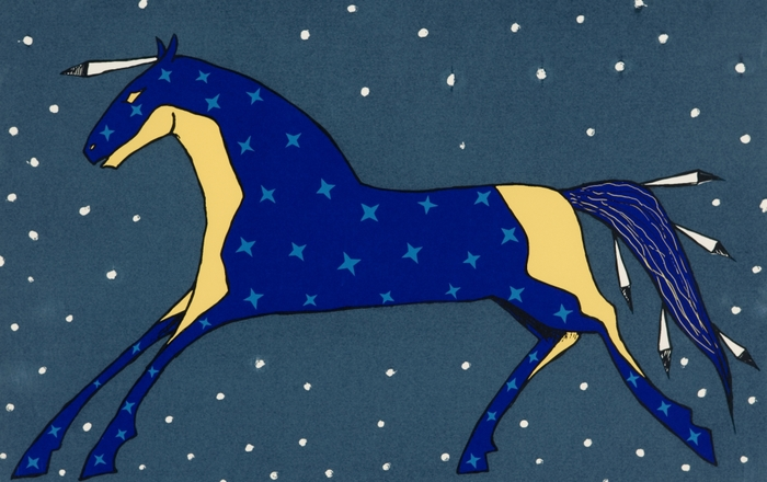 """Night Horse"" - Glen LaFontaine"