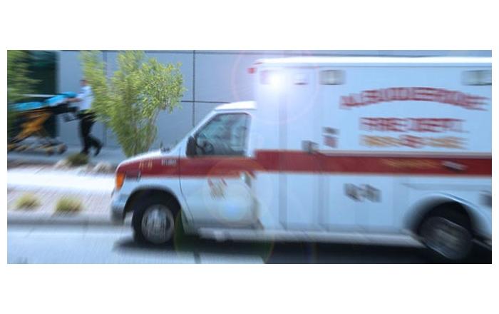 Ambulance at UNMH