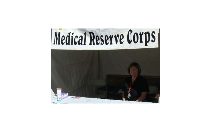 Volunteer at the  New Mexico Medical Reserve Corps