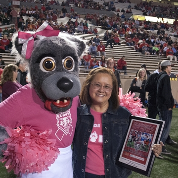 'Lobos Love Pink' game to celebrate breast cancer survivors