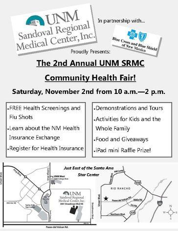 SRMC Healthfair Flyer4