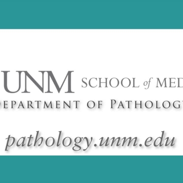 Research at the UNM Department of Pathology