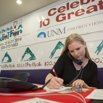 Radiothon raises money and hope at UNM Children's Hospital