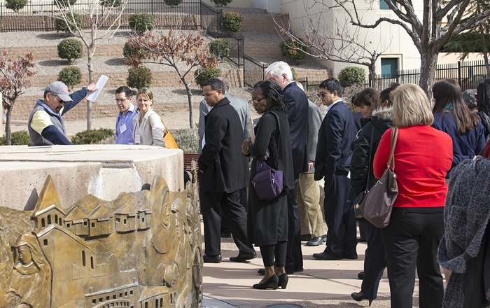 Urban Universities for Health visits Martineztown