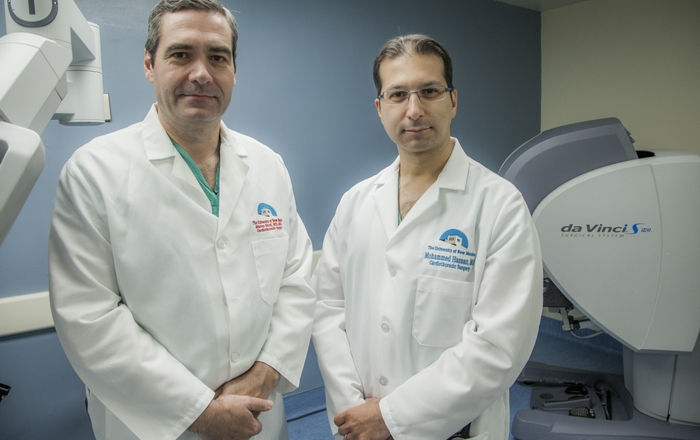 Drs. Marco Ricci and Mohammed Hassan