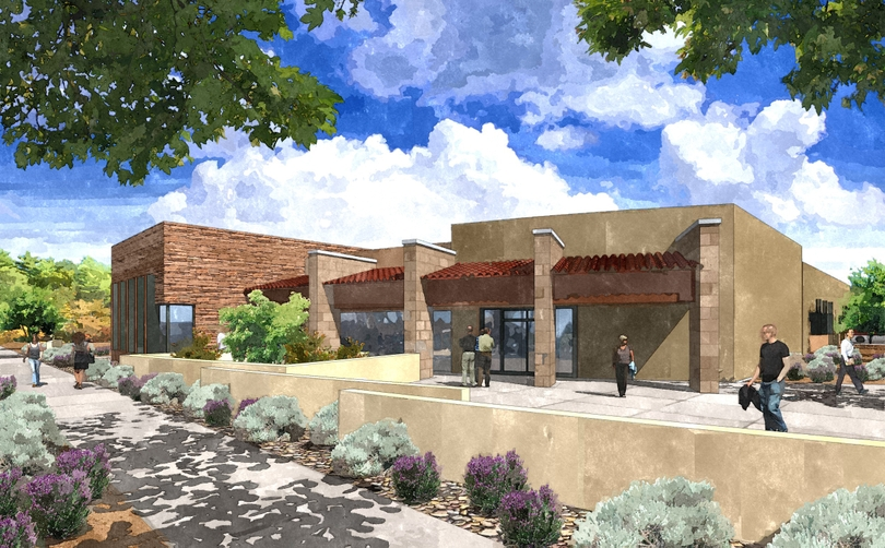Artist's rendering of new North Valley clinic