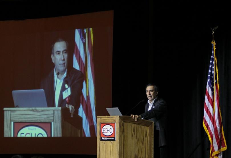 Sanjeev Arora, MD addresses ECHO conference