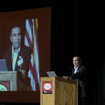Sanjeev Arora, MD addresses ECHO conference