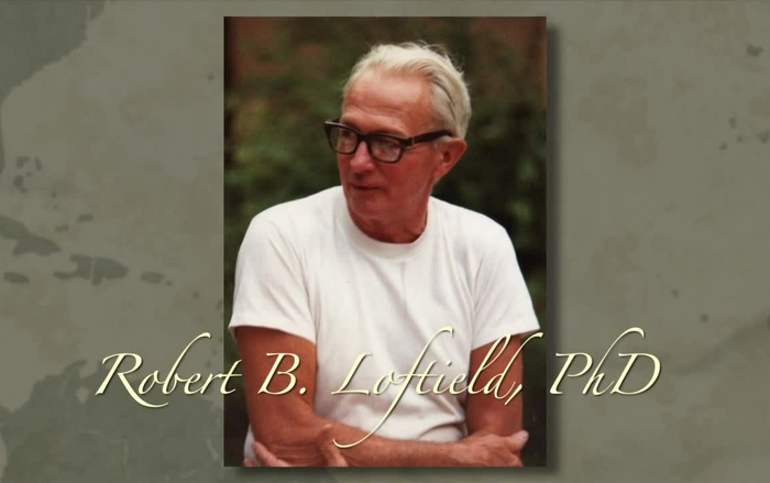 "Robert Loftfield, PhD, 2013 ""Living Legends"" tribute"