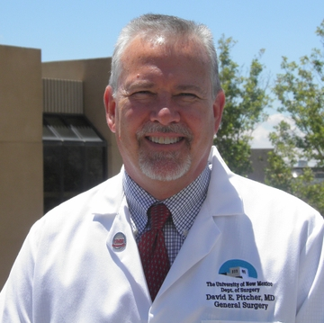 Pitcher named executive physician for UNM Health System