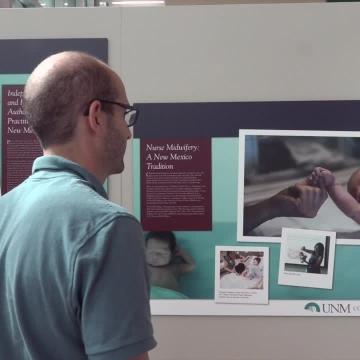 UNM Nursing and Pharmacy Colleges Celebrate Milestones in Joint Exhibit