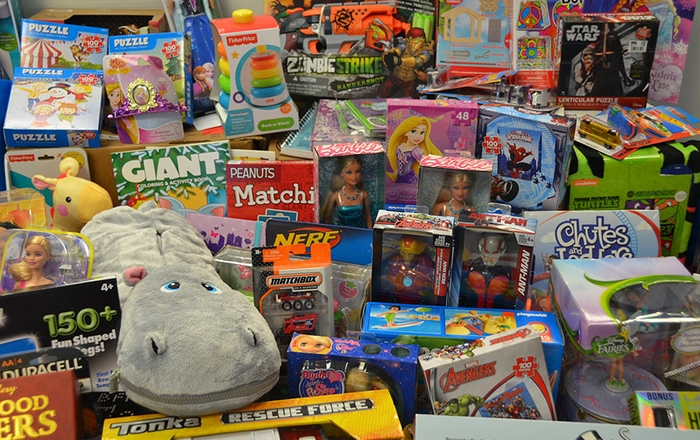 UNM Children's Hospital toy donations