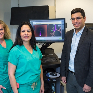 Electromagnetic Navigation Bronchoscopy at UNMH