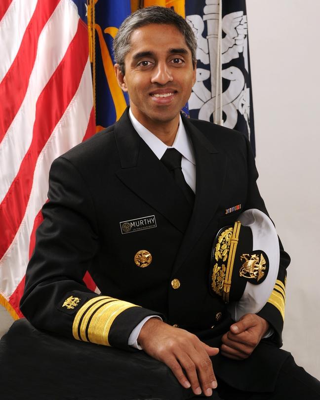 U.S. Surgeon General Vivek Murthy, MD