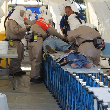 FEMA diaster training decon