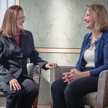Partners in practice: breast cancer patient 'part of the team'