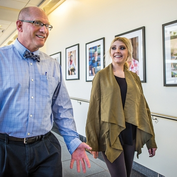 Partners in practice: former patient inspired to care for others