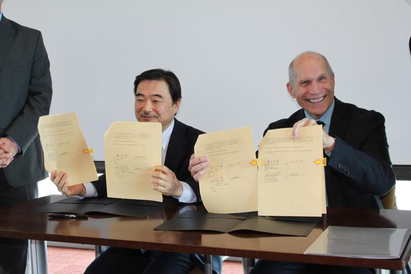 UNM, Sendai City collaborate