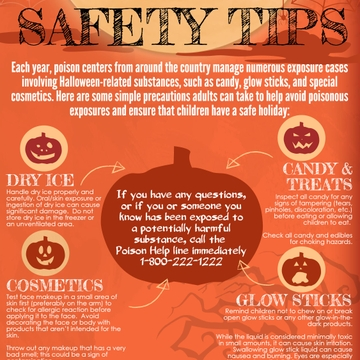 NM Poison Center offers Halloween safety tips