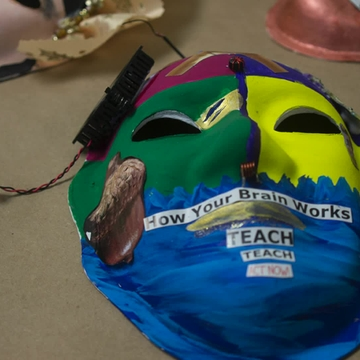 Brain injury survivors create masks to promote awareness on prevalence of injuries